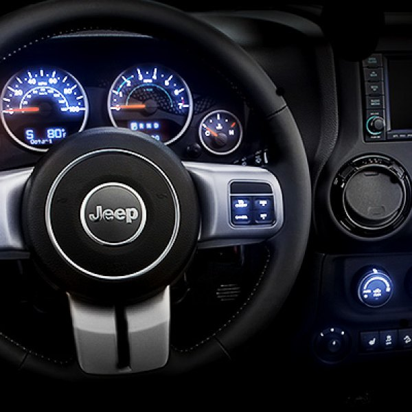 US Speedo® - Gauge LED Lighting Kit on Jeep