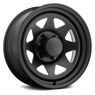 US WHEELS® - 8 SPOKE STEALTH (Series 704) Matte Black