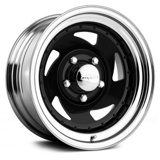 US WHEELS® - BLADE Gloss Black with Chrome Lip
