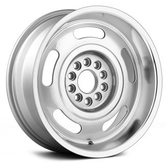 US WHEELS® - CORVETTE RALLY Silver with Machined Lip