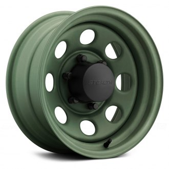 US WHEELS® - CRAWLER (Series 044CG) Camo Green