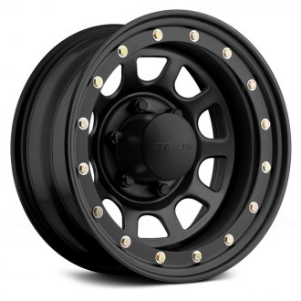 US WHEELS® - STEALTH DAYTONA SIMULATED BEADLOCK (Series 841) Gloss Black