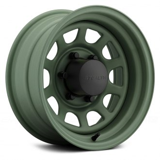 US WHEELS® - DAYTONA Camo Green