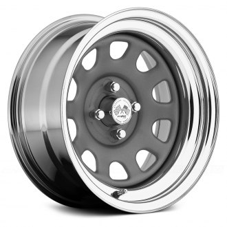 US WHEELS® - DAYTONA (Series 022GMC) Gunmetal Center with Chrome Lip