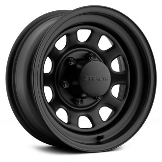 US WHEELS® - DAYTONA Matte Black