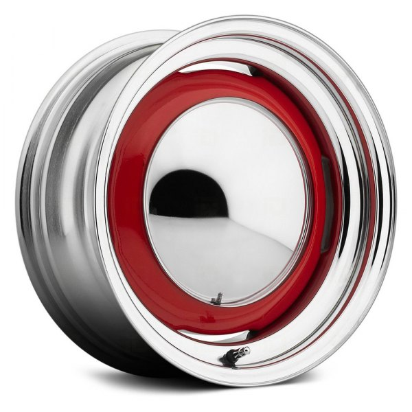US WHEELS® - DEUCE Chrome with Any Single Generic Color Center