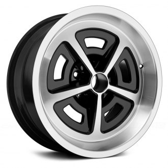 US WHEELS® - MAGNUM RALLY Black with Machined Face and Lip