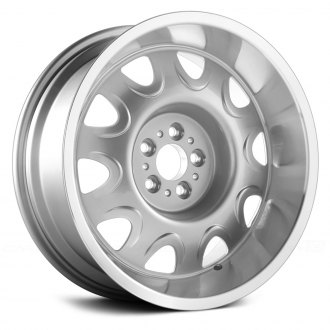 US WHEELS® - MOPAR RALLY (Series 619) Silver with Machined Lip