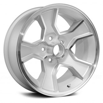 US WHEELS® - N90 Silver with Machined Face and Lip