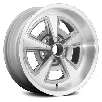 US WHEELS® - RALLY II Silver with Machined Face and Lip