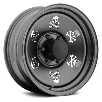 US WHEELS® - SKULL Gunmetal