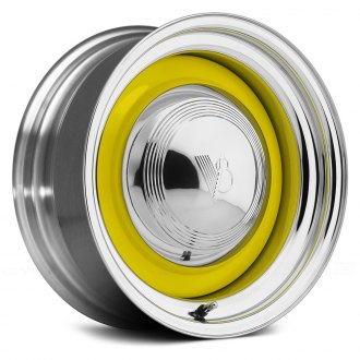 US WHEELS® - SMOOTHIE Paint Ready Center with Chrome Lip