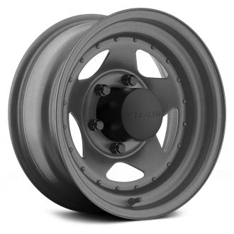 US WHEELS® - STAR 304 (Series 304GM) Gunmetal