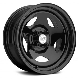 US WHEELS® - STAR (Series 021BLK) Black