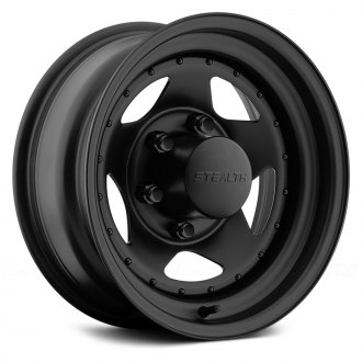 US WHEELS® - STAR (Series 304) Matte Black