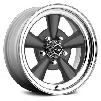 US WHEELS® - SUPREME Gunmetal with SS Lip