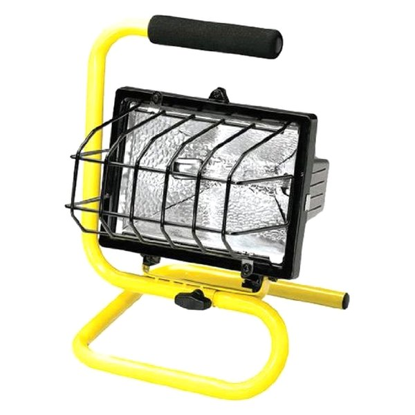 120 Led Cordless Work Light Home Garage Emergency Portable: Halogen Portable Light With Floor Stand