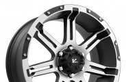 "V-ROCK® - OVERDRIVE Matte Black with Machined Face and Bezel (20"" x 9"", +30 Offset, 6x135 Bolt Pattern, 87.1mm Hub)"
