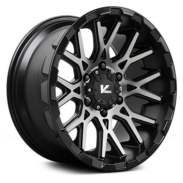 V-ROCK® - VR10 RECOIL Satin Black with Dark Machined Tint Face