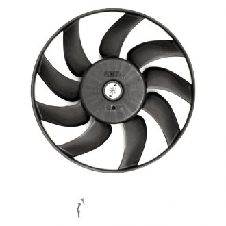 Valeo® - A/C Condenser Fan Assembly