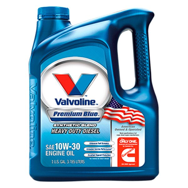 Valvoline® 818289 - Premium Blue 8600 ES™ SAE 10W-30 Heavy Duty Diesel  Motor Oil, 1 Gallon