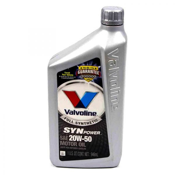 valvoline 945 c synpower sae 20w 50 full synthetic