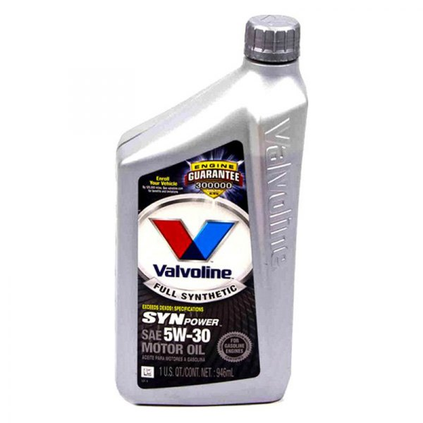 Valvoline full synthetic with max life technology 5w 30 for Top rated motor oil synthetic