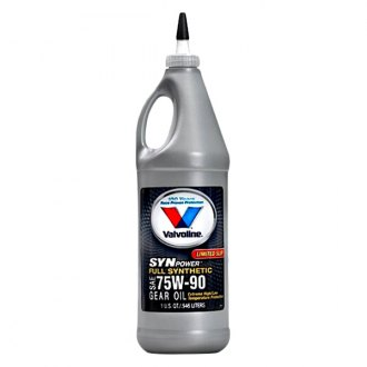 Valvoline® - SynPower™ SAE 75W-90 Full Synthetic Gear Oil 1 Quart