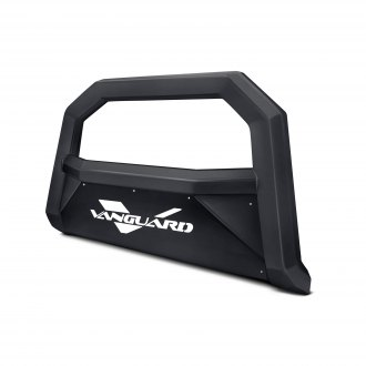 "Vanguard Off-Road® - 3"" Optimus Series Black Bull Bar with Skid Plate"