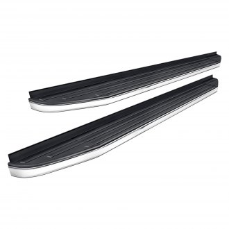 "Vanguard Off-Road® - 5"" F6 Style Wheel-to-Wheel Brushed Running Boards"