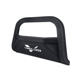 "Vanguard Off-Road® - 3"" Optimus Series Black Rounded Bull Bar with Skid Plate"