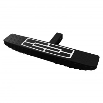 "Vanguard Off-Road® - Flat Top Black Hitch Step for 2"" Receivers"
