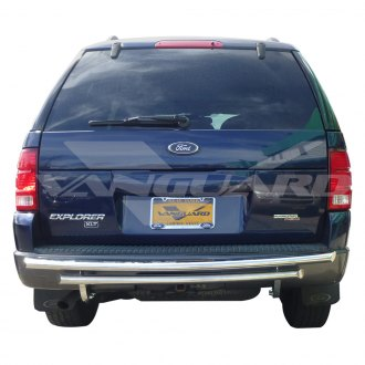 Vanguard Off-Road® - Rear Double Layer Polished Bumper Guard