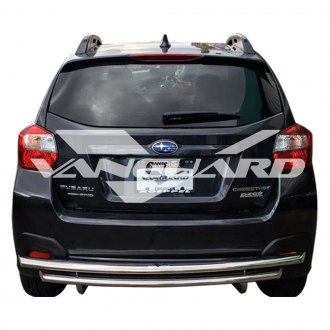 Vanguard Off-Road® - Double Layer Polished Rear Bumper Guard