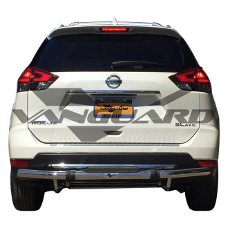 Vanguard Off-Road® - Pintle Style Single Tube Rear Bumper Guard