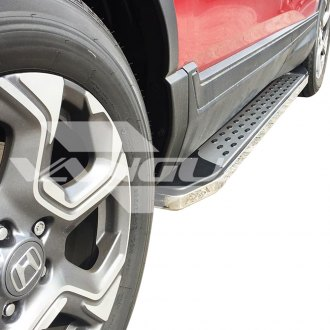 "Vanguard Off-Road® - 5"" F2 Style Wheel-to-Wheel Brushed Running Boards"