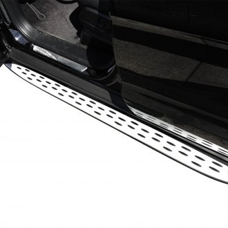 "Vanguard Off-Road® - 5"" Factory Style Wheel-to-Wheel Brushed Running Boards"