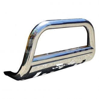"Vanguard Off-Road® - 3"" Polished Bull Bar with Skid Plate"