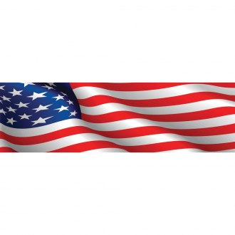 "VantagePoint® - ""American Flag"" Rear Window Graphic"