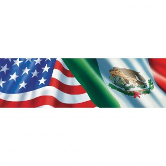 "VantagePoint® - ""Ameri-Mexican Flag"" Rear Window Graphic"