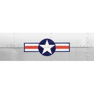 "VantagePoint® - ""Air Corp Star & Bar"" Rear Window Graphic"