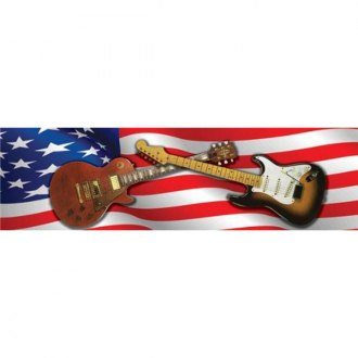 "VantagePoint® - ""American Rock"" Rear Window Graphic, 66"" x 20"""