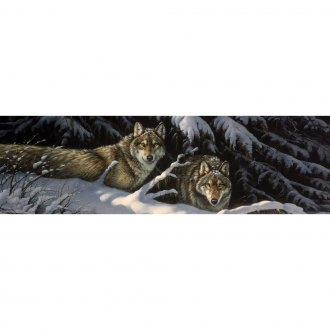 "VantagePoint® - ""Black Timber Wolves"" Rear Window Graphic"