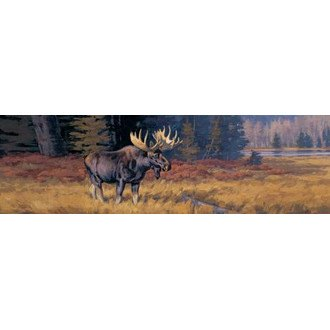 "VantagePoint® - ""October Moose"" Rear Window Graphic, 66"" x 20"""