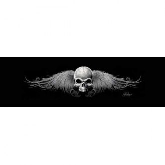 "VantagePoint® - ""Wing Skull Rocker"" Rear Window Graphic"