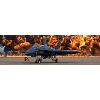 "VantagePoint® - ""F-18 Explosion"" Rear Window Graphic, 66"" x 20"""