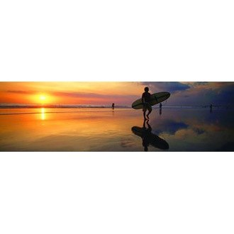 "VantagePoint® - ""Surfer at Dusk"" Rear Window Graphic, 66"" x 20"""
