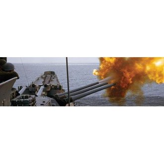 "VantagePoint® - ""16-Inch Guns Fire"" Rear Window Graphic, 66"" x 20"""