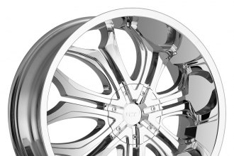 "VCT® - GODFATHER Chrome (22"" x 8.5"", +35 Offset, 5x120.65 Bolt Pattern, 73.1mm Hub)"