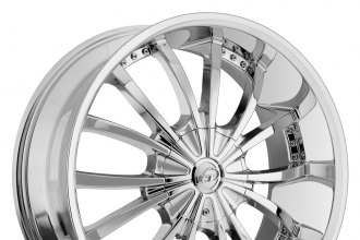 "VCT® - MANCINI Chrome (17"" x 7.5"", +38 Offset, 5x114.3 Bolt Pattern, 73.1mm Hub)"
